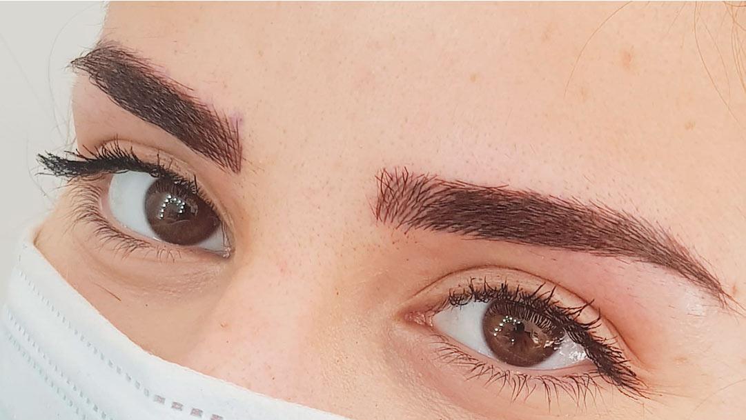 Maquillaje semipermanente de cejas